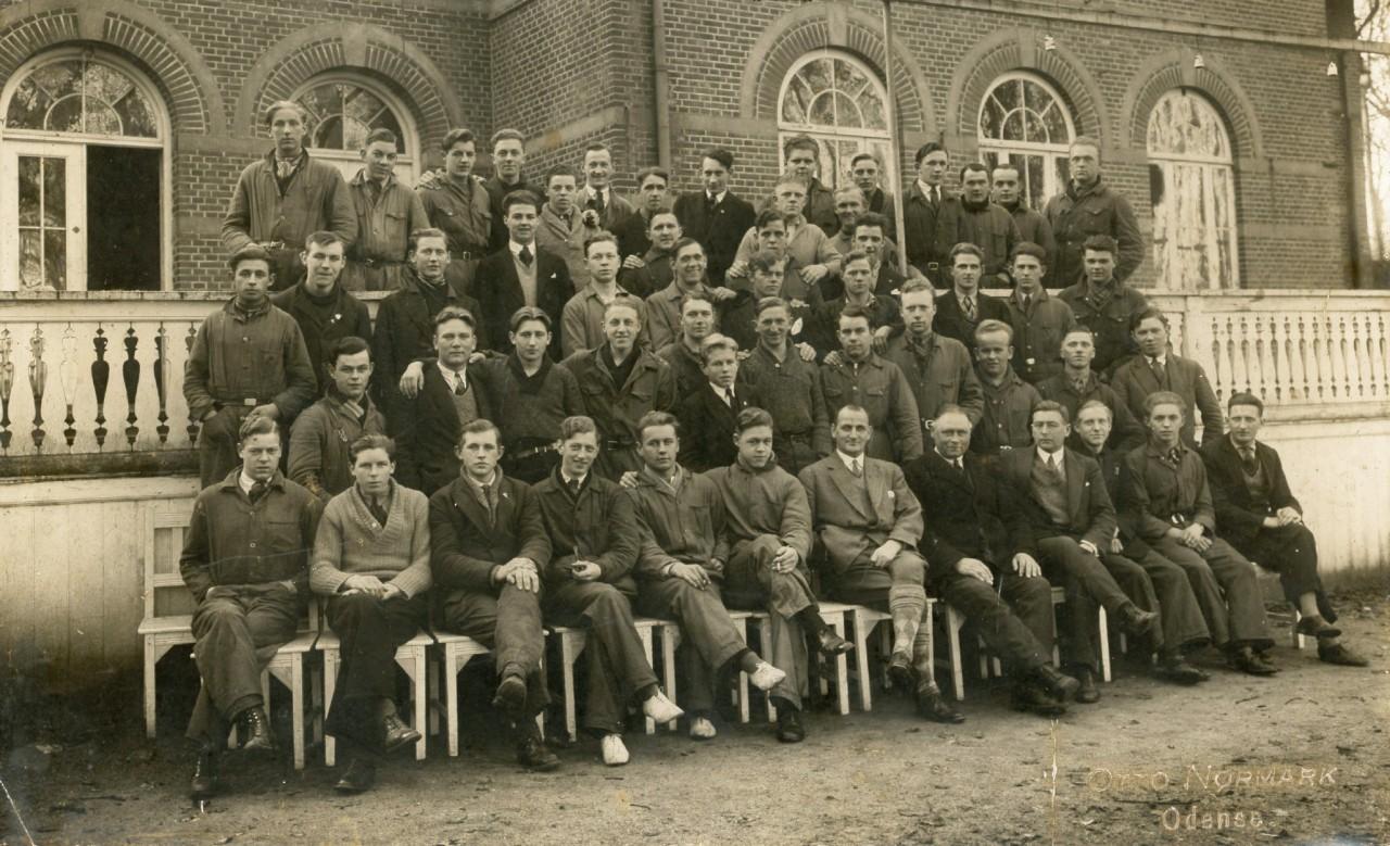 Forsøgsarbejdet i Odense 1940-42