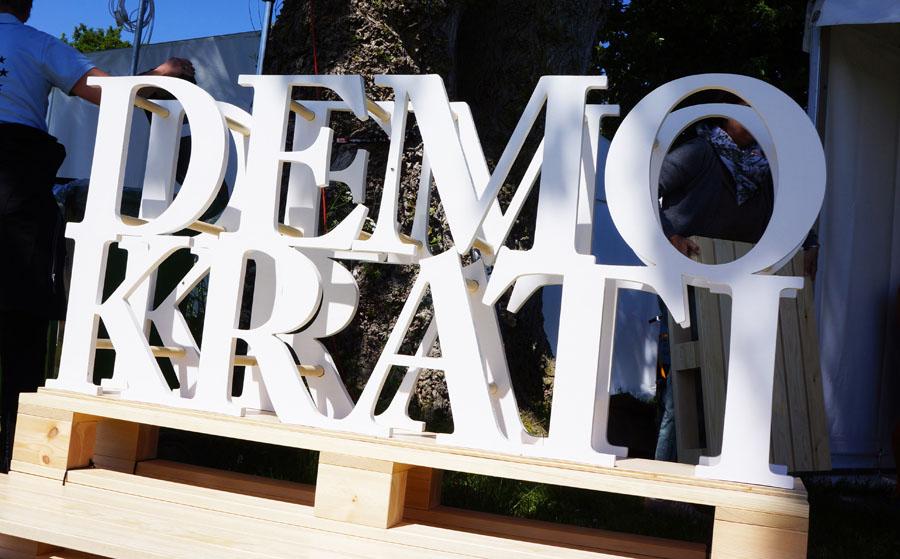 Selvbiografi-Demokrati