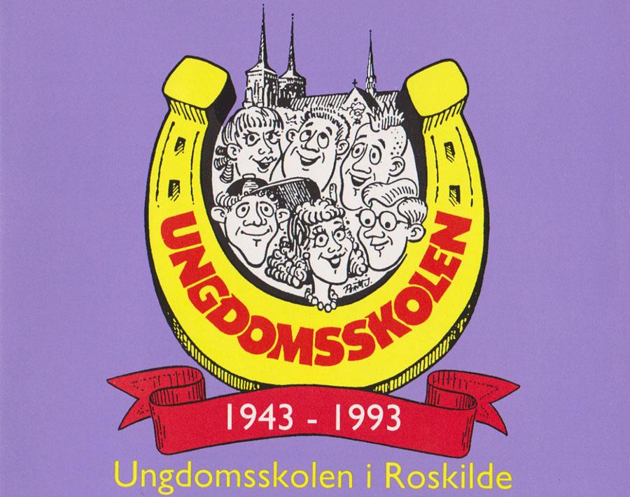Ungdomsskolen-i-Roskilde-1943-1993-Cover