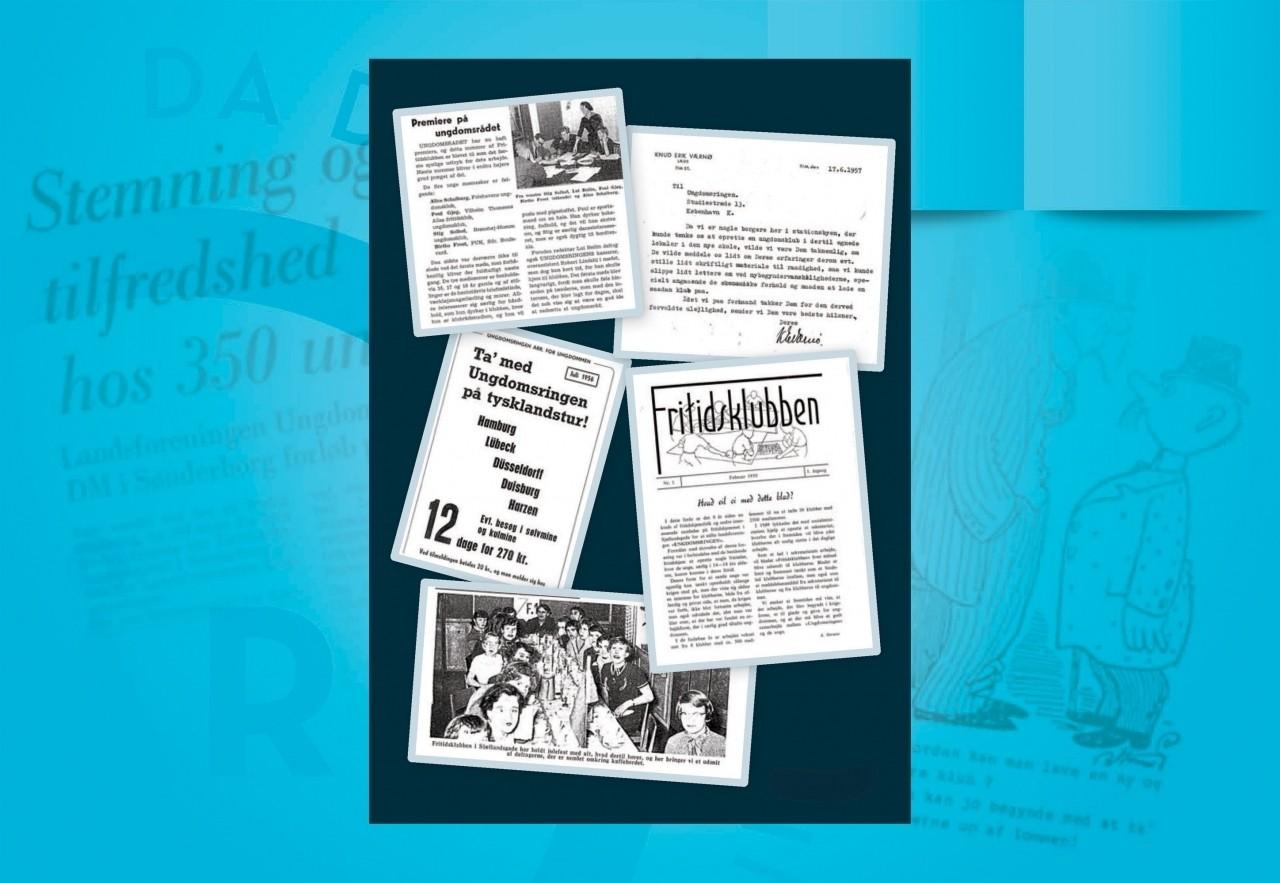 1950'erne: Sløjd, spæd ungeindflydelse og den første ungdomskonsulent